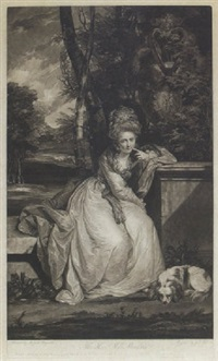 the hon. ble miss monckton by johann jacobe
