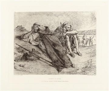 artwork by eugène delacroix