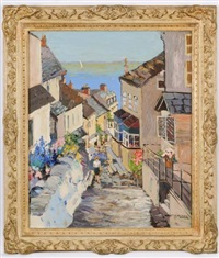 down-a-long, clovelly, devon by violet mcneish kay