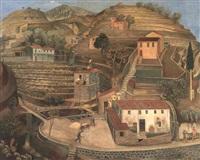 vinberget (val de menton) by olof (olle) agren