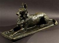 lying dog by pierre nicolas turgenov