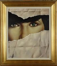 visage de femme by erwin mackowiack