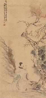 秋林逸士 by ren bonian