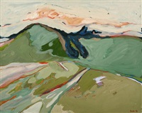 o.t. (landschaft) by helmut pfeuffer