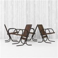 pickle creek patio chairs from the henry p. glass house, northfield (set of 4) by henry p. glass