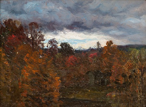 low rising clouds by john joseph enneking