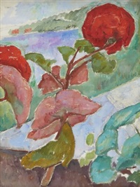 pelargoner by nils von dardel