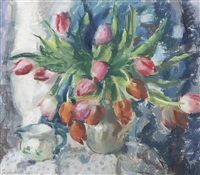 tulips (3 works) by lena alexander