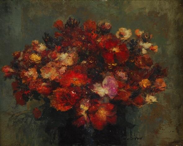 bouquet de fleurs by walter vaes