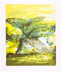 spring (from four seasons) by zao wou-ki