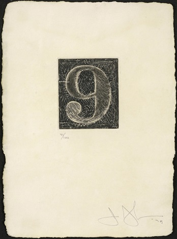 figure 9 by jasper johns