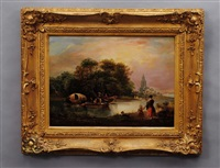 on the yare by edmund bristow