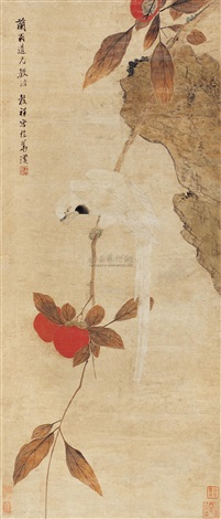 parrot by wang guxiang