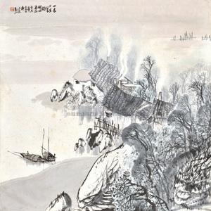 烟村四五家 by ma shan