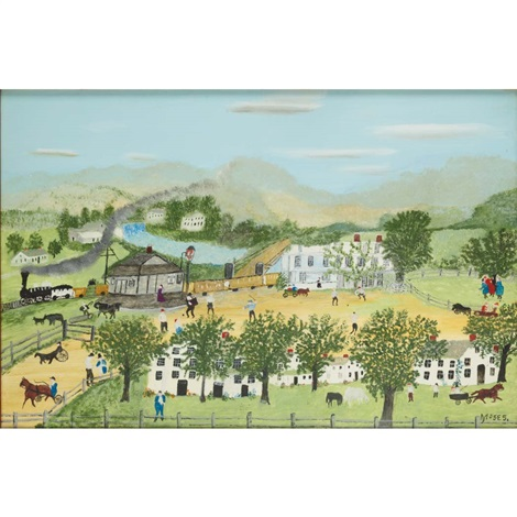 dalton house by grandma moses