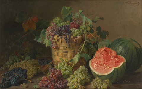 composition aux raisins by licinio barzanti