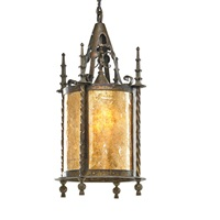 large hanging lantern by samuel yellin