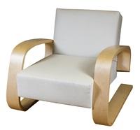 tank armchair (model no 400) by alvar aalto