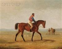 horse and jockey by scott leighton