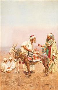 un dirhem pour une tournée dans le désert by giulio rosati