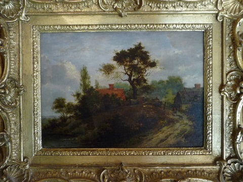 landscape with figures by patrick nasmyth