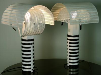 Shogun lampade da tavolo pair by mario botta on artnet
