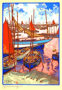 douarnenez by raymond louis quillivic