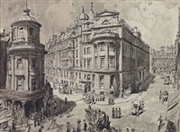 charing cross hospital, london by hanslip fletcher