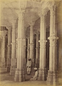 architectural studies at ahmedabad, gujarat (50 works) by thomas biggs