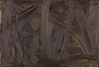 vermalung (braun) by gerhard richter