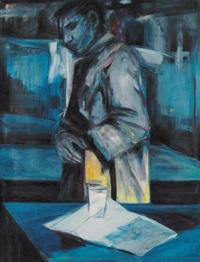 portrait eines mannes by anna löbner