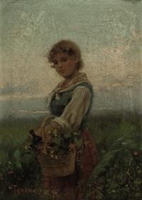 the flower girl by vittorio tessari