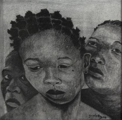 portrait 9 by zwelethu mthethwa