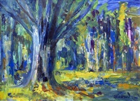 trees new forest by james lawrence isherwood