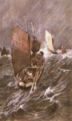 temps fort à douarnenez by george gilbert sir scott