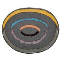 massive oval platter