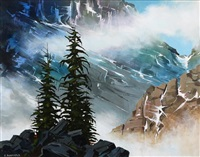 high country (yoho national park, valley of the ten peaks) by allan dunfield