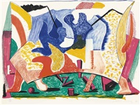 twelve fifteen by david hockney