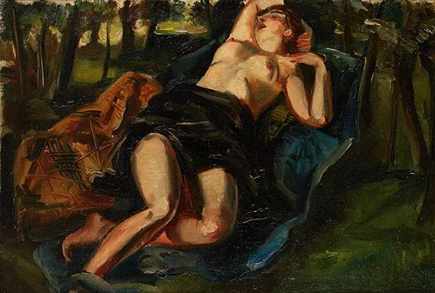 la sieste dans la forêt by andré favory