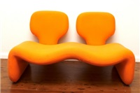 two seater sofa by olivier mourgue djinn