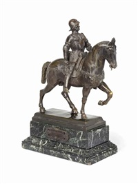 model of the colleoni monument by andrea del verrocchio and alessandro leopardi
