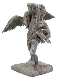 le chasseur d'aigles by jef lambeaux