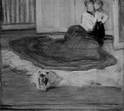 the bear rug by harry mills walcott