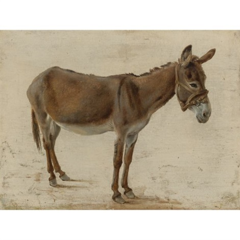 a donkey by jacques laurent agasse