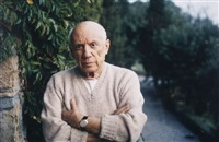 pablo picasso by tony vaccaro