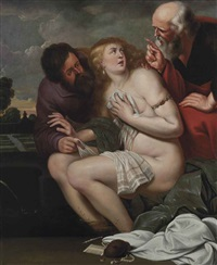 susanna and the elders by simon de vos
