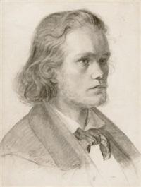 junger mann, nach rechts blickend (study) by heinrich spiess