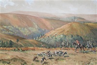 hunting scene by graham smith