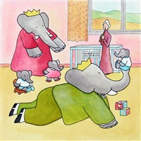 babar : jeux avec les enfants by jean de brunhoff