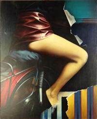 sur des ailes rouges by erwin mackowiack